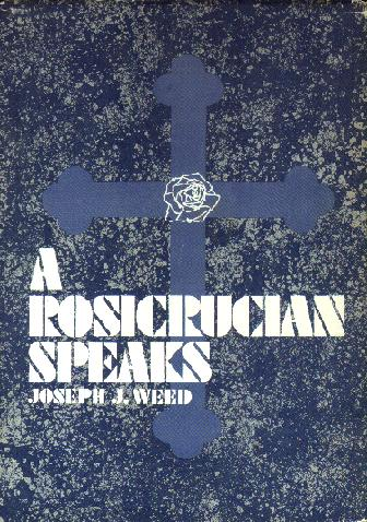 Image of Cover of A Rosicrucian Speaks